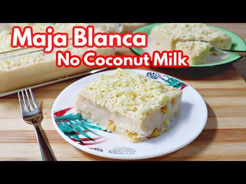 Maja Blanca without Coconut Milk   Paano Magluto ng Maja Blanca na Walang Gata