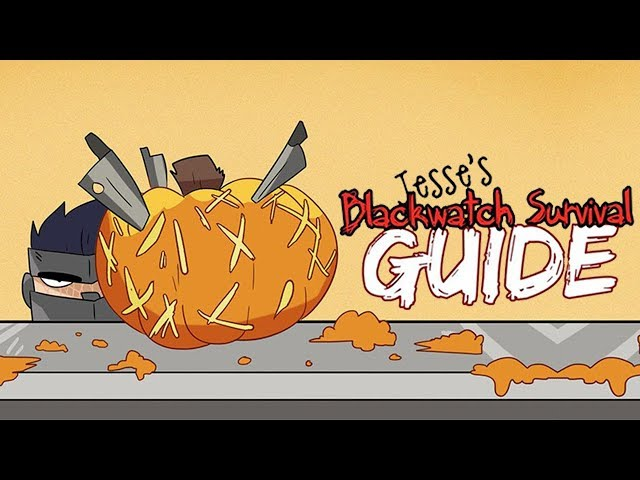 Pumpkin Carving with Blackwatch - Jesse's Blackwatch Survival Guide | Overwatch Comic Dub