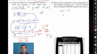 common core algebra i unit 8 lesson 5 stretching parabolas and completing the square