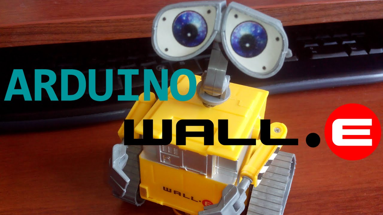 Real wall e robot on arduino youtube