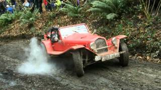 Exeter Trial 2013 Simms Hill. Car No 136 Marlin Roadster