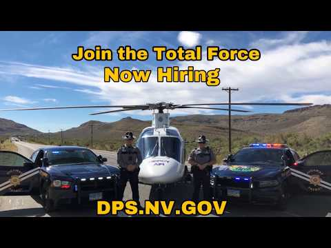 Answer The Call: The Nevada Department Of Public Safety, Nevada Highway Patrol Is Hiring