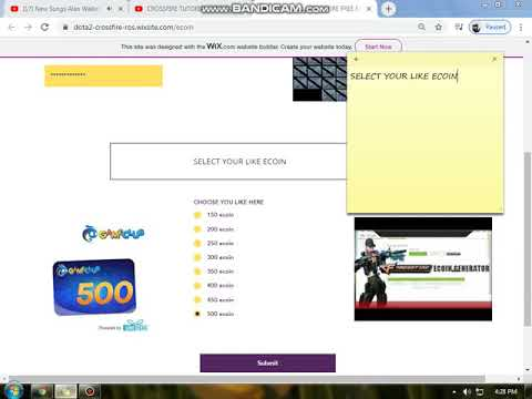 CROSSFIRE TUTORIAL HOW TO GET FREE ECOIN 2020