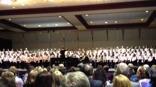 "Cynthia Gray, ""Where Go The Boats?"" - Florida All-State Elementary Chorus 2012"
