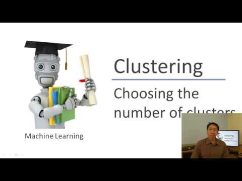 Lecture 13 5 — Clustering | Choosing The Number Of Clusters — [ Machine  Learning | Andrew Ng ]