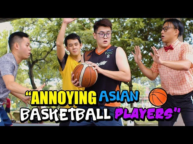 14 Annoying Asian Basketball Players!