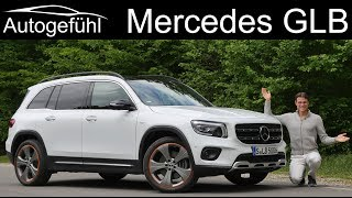 Mercedes GLB 250 FULL REVIEW all-new SUV between GLA and GLC - Autogefühl