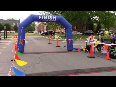2018 College Park 5K Finish Line Video