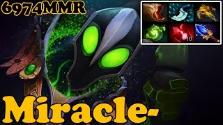 Dota 2 - Miracle- 6974 MMR Plays Rubick vol 5# - Ranked Match Gameplay