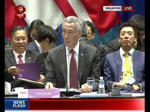 13th East Asia Summit plenary session: Opening Statement by Singapore PM