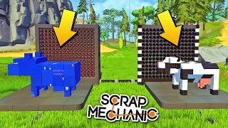 НАПЕЧАТАЛИ КОРОВУ ОГРОМНЫМ 3D ПРИНТЕРОМ !!! МУЛЬТИК в Scrap Mechanic !!! СКАЧАТЬ СКРАП МЕХАНИК !!!