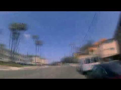 4K - Downtown Los Angeles to Santa Monica Bike ride Expo line
