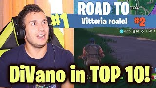 DiVano IN TOP TEN! - ROAD TO VITTORIA REALE #2 - FORTNITE - Alessandro Vanoni