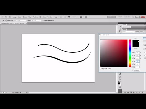 Tutorial Dasar Dasar Pen Tool Photoshop bahasa indonesia (un