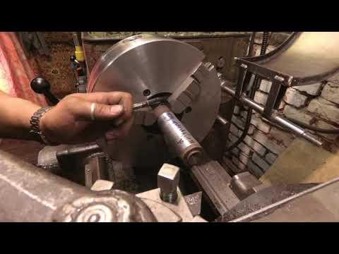 Как выставить переднюю бабку токарного станка. Регулировка передней бабки токарного станка.