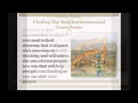Reasons To Use Environmental Consulting Companies