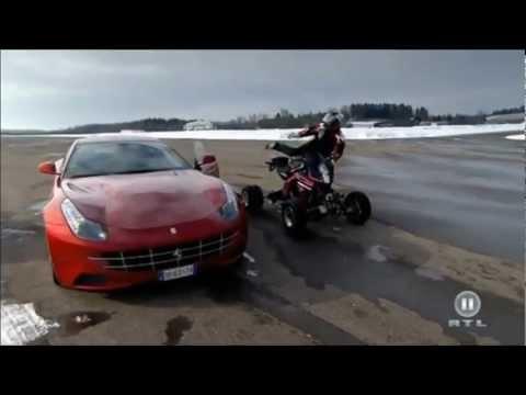 Eatv RC8 VS Ferrari FF K&S Quad