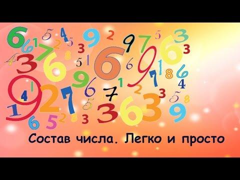 Как выучить ребенку состав числа до 10