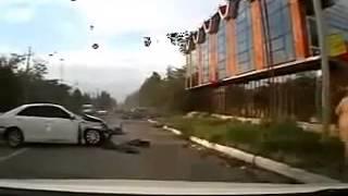 ДТП Страшная авария в Хасавюрте Дагестан) ДТП! Авария! Видеорегистратор