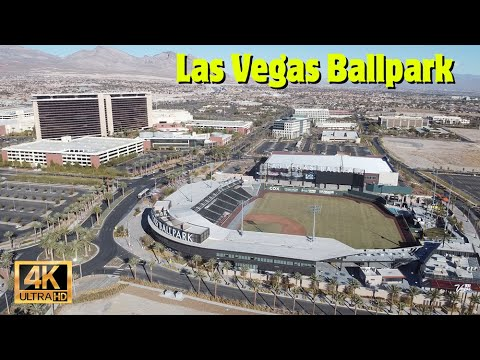 Taking a look at Las Vegas Ballpark - Home of the Aviators