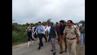 Inspection and monitoring of Kavad Patri work by DM Haridwar, DM Muzaffarnagar & JM Roorkee