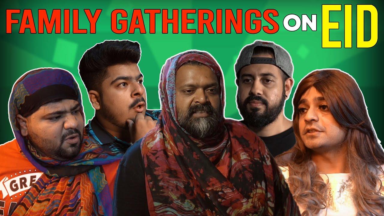 Family Gatherings On Eid Ft. @Bekaar Films || Unique MicroFilms || Comedy Skit