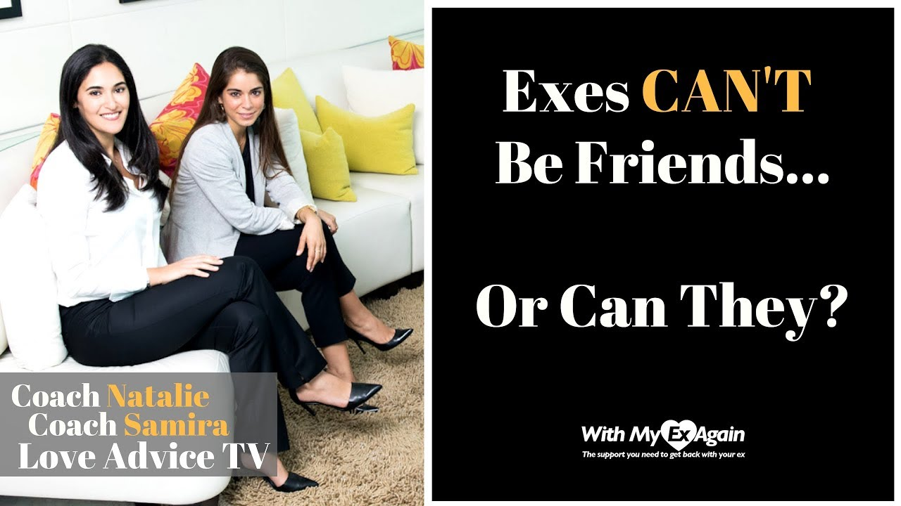 Can you become friends with your ex