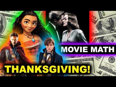 Box Office for Moana, Allied, Fantastic Beasts, Doctor Strange