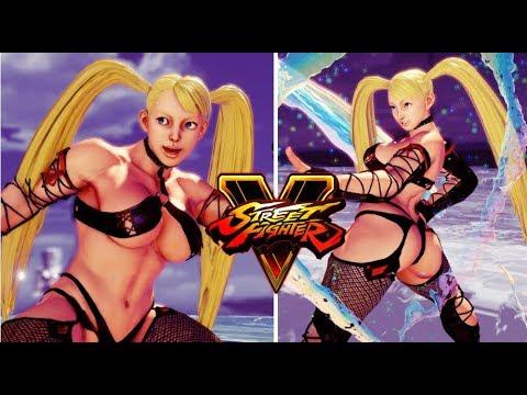 Street Fighter 5 mods R Mika Dark Prison SSR