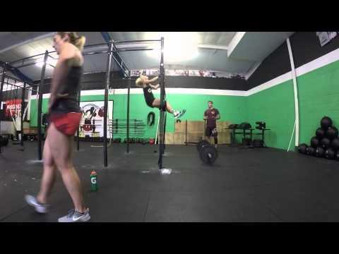 ICONOC wod4 Sarah Lowman & Rebecca Lewis CrossFit Caerphilly