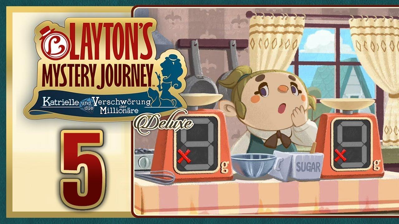LAYTON'S MYSTERY JOURNEY #5: Katrielle und die erste Blamage! [1080p] ★ Let's Play