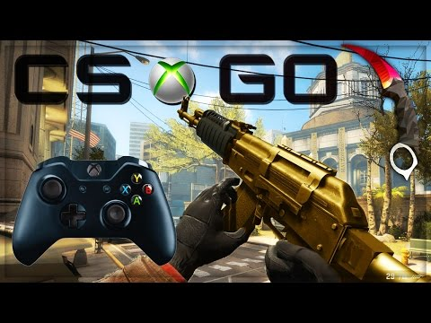 CS GO XBOX ONE GAMEPLAY - PLAY XBOX 360 GAMES ON XBOX ONE! (CS:GO)