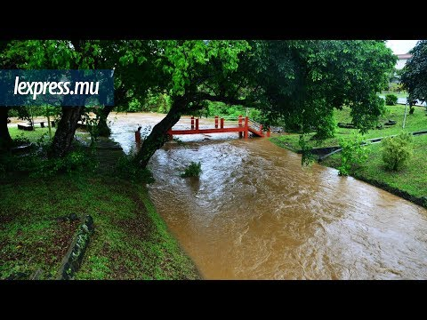 Fortes pluies: les rivières en crue