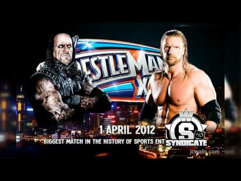 2012: Wrestlemania XXVIII 4th  Theme Song: The Memory Remains  Metallica + Download Link