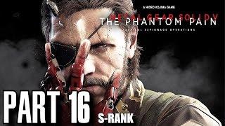 Metal Gear Solid 5 The Phantom Pain Walkthrough Part 16 - Footprints of Phantoms S-Rank