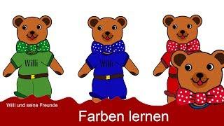 Deutsch lernen für Kinder - Farben