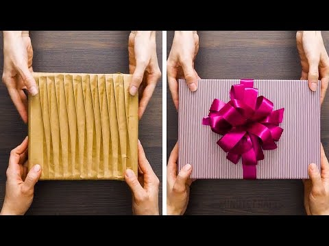 20 ELEGANT GIFT WRAPPING IDEAS EVERYONE WILL LOVE