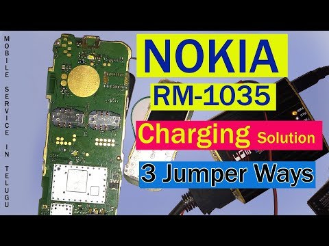 Nokia Rm 1035 Charging Problme Jumper Ways 100% Working