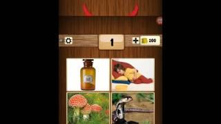 4 resim 1 kelime oyunu