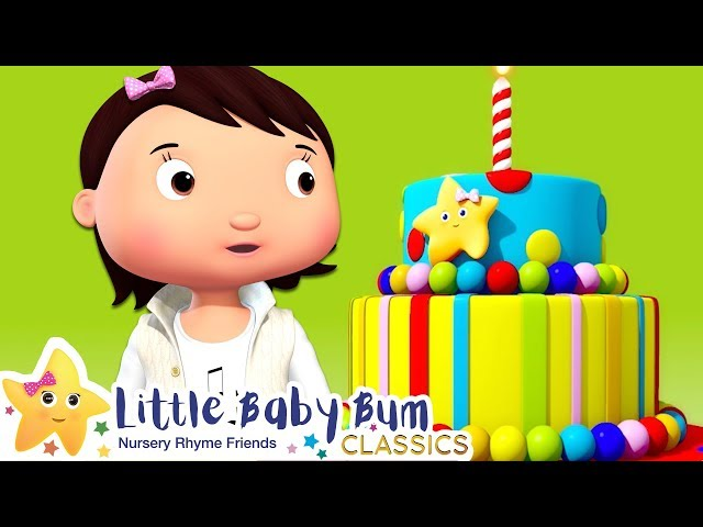Happy Birthday Song! +More Nursery Rhymes & Kids Songs - ABCs and 123s | Little Baby Bum