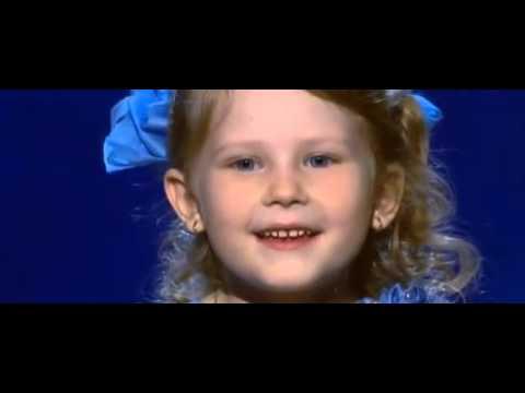 Девочка вундеркинд читает стих на Україна має талант - Как поздравить с Днем Рождения