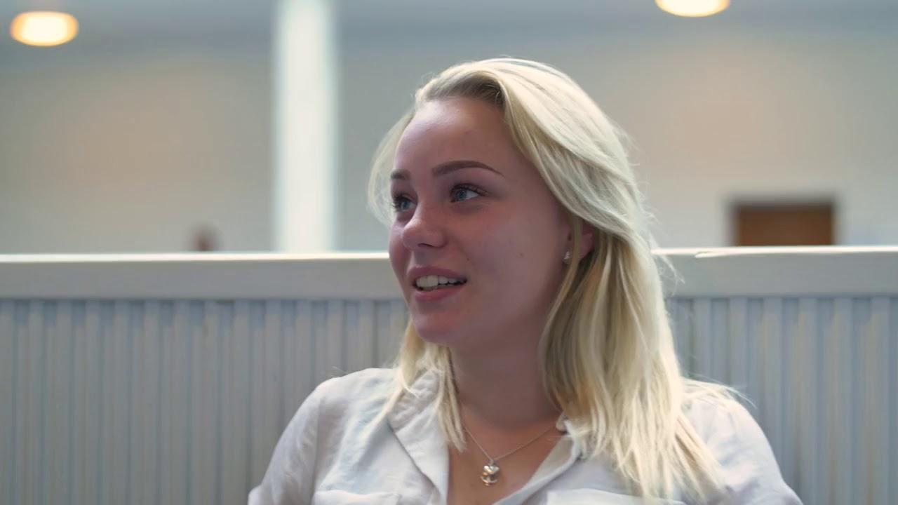 Sofie fortæller om eksamen efter 1. hf