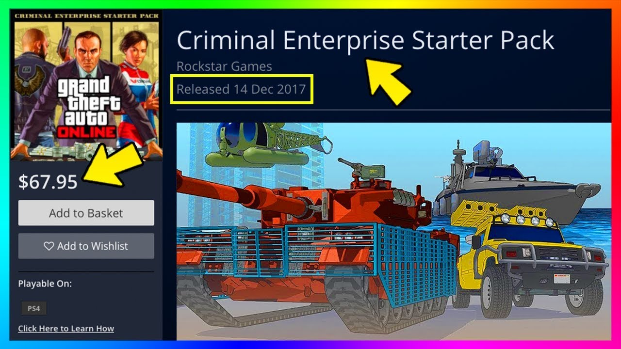 Rockstar CONFIRMS Exciting Updates Coming To GTA Online & Criminal  Enterprises Starter Pack Details!