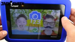 Kinder-Tablet Clementoni Clempad 5.0 6 Unboxing & Hands-On 4K German Deutsch