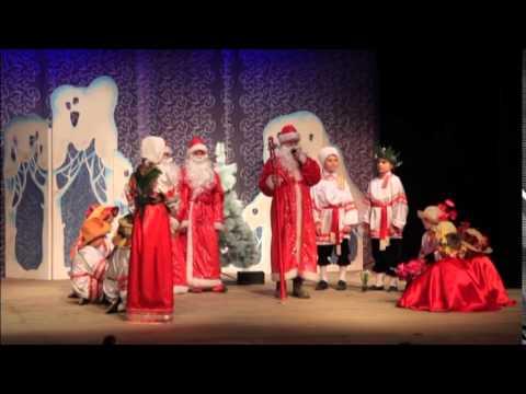 Спектакль воскресной школы 12 месяцев ТЮЗ Рождество Христово 2013