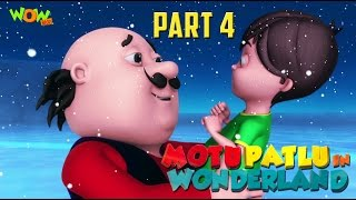 Motu Patlu In Wonderland Part 04   Movie  Movie Mania   Wow Kidz  As seen on Nick