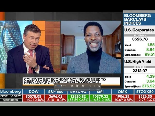Anthony Coley   Bloomberg TV News 12 7 2020 Bloomberg Markets