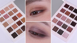 Etude House Personal Color Palettes Warm Tone/Cool Tone Eyes || Review + Swatches - Edward Avila