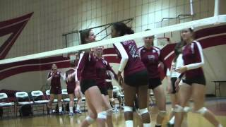 Downey Volleyball vs La Habra 9/15/2011.m4v