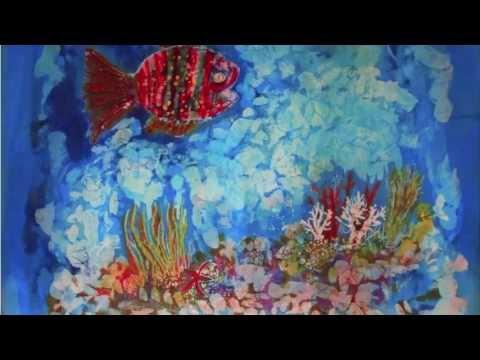 Ayşen Bayer Mum Batik çalışmaları 2013 Tanıtım Videosu Youtube